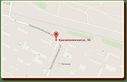 Карта проезда г. Волгоград, ул.Жигулевская, д.14