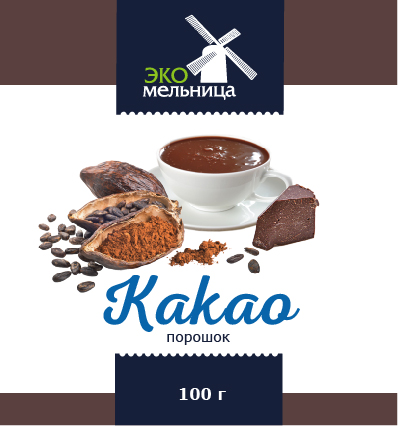 Какао-порошок 100 граммов